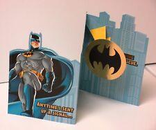 Hallmark Batman DC Comics Father's day gift card Thanks Dad