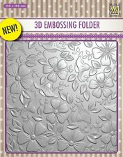 Nellie Snellen/Embossing /Folder/Flowers 3/EF3D003/Square/152x152mm