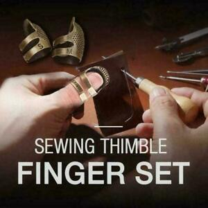 2 Sizes Finger Protector Thimble Sewing Special Retro CraftTool New Home W0S9