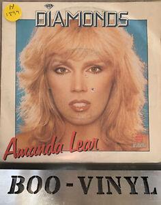 "AMANDA LEAR ~ DIAMONDS 7"" VINYL RECORD FUNK SOUL DISCO EX"