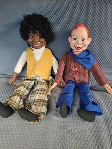 Howdy Doody and Lester Ventriloquist Dolls