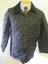 """Barbour Liddesdale Quilted jacket XS 34-36"""" Euro 44-46 in Black"""