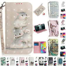 For Samsung Galaxy Note 10 A30 A50 Magnetic Flip Card Wallet Leather Case Cover