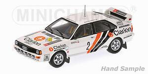 1/43 Audi Quattro A2  Clarion  Rally Sweden 1984  Per Eklund