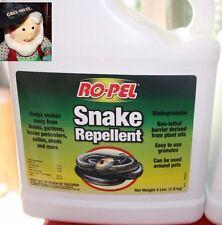 Ro-Pel Snake Repellent Biodegradable Pet Friendly 4 lbs Granules New