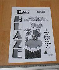 Blaze Lighter Club Of Great Britain Winter 203 issue 98 Club mag