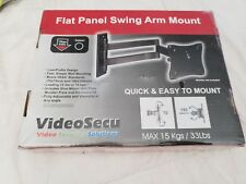 VideoSecu Flat Panel Articulating Swing Arm Mount Ml10B New & Sealed Up To 33lbs