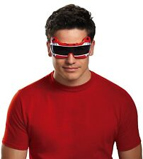 Adult Warrior TV Show Power Rangers Red Ranger Costume Accessory Glasses