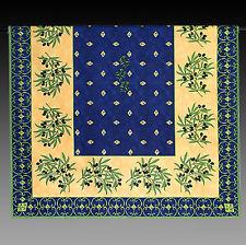 Tischdecke  Blau mit Oliven, 175x140 100% Baumwolle NEU Provencestil