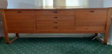 More details for vintage teak gunther hoffstead uniflex sideboard with drinks cabinet