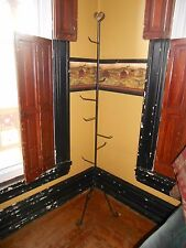 AMISH HAND MADE WROUGHT IRON HANGING TREE HANGER FOR 8 LONGABERGER BASKETS