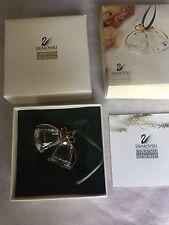 "Swarovski Christmas Memories Crystal Bells Ornament ""Mint"""