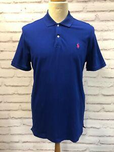 Polo Golf Ralph Lauren Men's Blue Polo Shirt Size Large