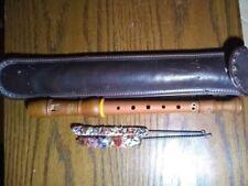 Regina Wooden Flute, Made in Germany