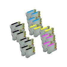 20 tinta COMPATIBLES NON-OEM para  Epson DX4800 DX 4800 DX-4800 T0611-2-3-4