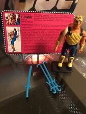 G.I. Joe T Jbang v1 1992 Ninja Force Complete With File Card