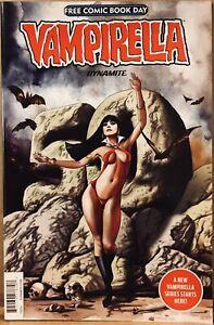 FCBD 2019 Free Comic Book Day VAMPIRELLA Dynamite Arc 50th Ann. Unstamped