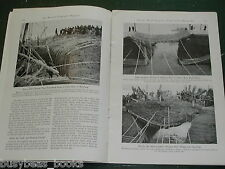 1942 magazine article on China's Yellow River, flood control, native engineering