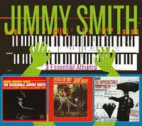 JIMMY SMITH - 3 ESSENTIAL ALBUMS  3 CD NEW