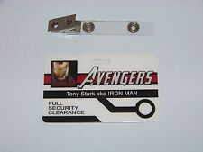 AVENGERS , Tony Stark / Iron Man ID - Karte , ID Badge , Ironman