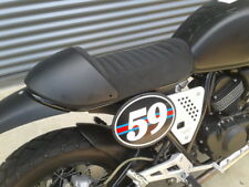Torino Aviata Cafe Racer Single Seat Matt Black Cowling New