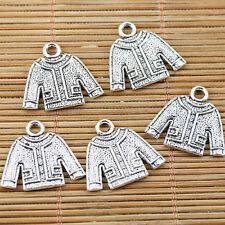 Tibetan Silver Tricot Style Charms-Pull//écharpe//Moufles//Bonnet #CRAFTS//Bijoux