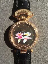 "Bovet Amadeo Fleurier ""Lotus"" Rose Gold 39mm Lady's Watch NEW! MSRP $72,000"