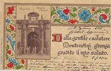 8277) DALLA GENTILE E SALUTARE  MONTECATINI SORGENTE IL TETTUCCIO.