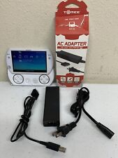 PSP Go PlayStation Pearl White PSP-N1001 with Tomee Charger / Works Great