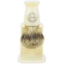 Ejecutivo de la afeitada Inglés Super Badger Cabello Crema Afeitar Cepillo esc-660smd