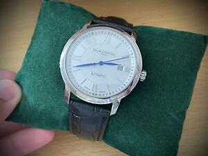 Baume & Mercier Geneve 25 Jewels Automatic gents watch day date swiss