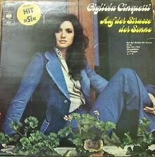 GIGLIOLA CINQUETTI-AUF DER STRASSE DER SONNE LP VINILO 1974 (HOLLAND)