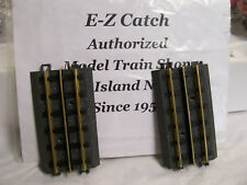 "MTH RealTrax Nickel Silver Rail ( 5"" Straight Track) Sections # 40-1016 Two Pack"