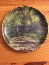 Goebel Artis Orbis Germany Claude Monet 29 3.75� Small Plate Bridge Le Bassin