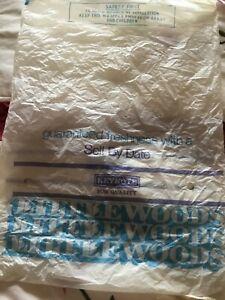 Vintage Littlewoods Plastic  Bag