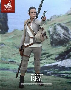 Sideshow Star Wars 7 - Rey (Resistance Outfit) - New In Box