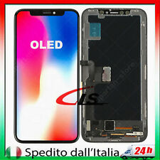 DISPLAY SCHERMO PER APPLE IPHONE X OLED TOUCH SCREEN FRAME LCD ASSEMBLATO TIANMA