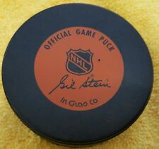 MONTREAL CANADIENS   OFFICIAL NHL HOCKEY PUCK INGLASCO OFFICIAL GAME PUCK LOGO