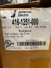 JEFFERSON ELECTRIC BUCK BOOST OUTDOOR TYPE 3R UL 1.0 kVA 416-1251-000