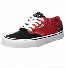 Vans Atwood Sz US 14 M Windsor Red & Black Canvas Sneakers Mens Shoes