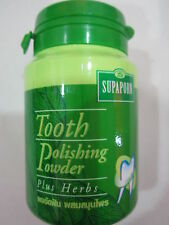 Herbs Tooth Polishing Powder for Healthy Teeth and Gums 90g.