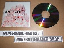 CD Indie Battles-Ice Cream (2 chanson) promo warp