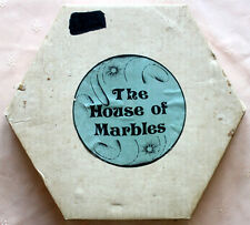 THE HOUSE OF MARBLES GAME WITH ADDED MARBLES.W/ INSTRUCTIONS