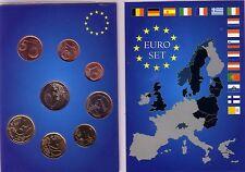 Série des 8 pièces du Luxembourg 2012, dans Euro Set.