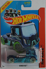 Hot Wheels - Rennen Rig / Race Truck dunkelblau/türkis Neu/OVP US-Card