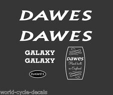Dawes Galaxy White Decals-Transfers-Stickers #5