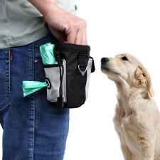 More details for dog pet training hands free waist bag drawstring carries toys treat food pouch