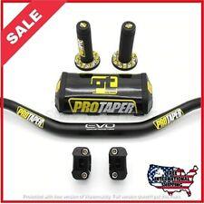✅ Pro Taper FAT BAR Evo Handlebars Dirt Bike Handle 1-1/8 ATV grips pad bars ✅