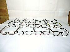 12 Pair Plastic Eyeglass Frames Brand New Men Women Unisex