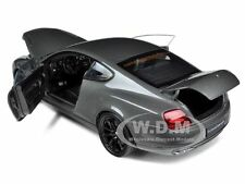 BENTLEY CONTINENTAL SUPERSPORTS COUPE GREY 1/18 DIECAST MODEL CAR  WELLY 18038